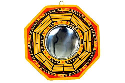 Vers la source accessoires d coration feng shui for Miroir concave convexe